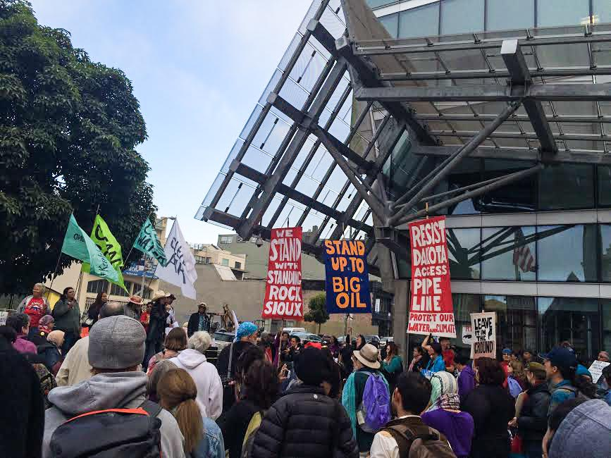 San Francisco Protest Adds to Growing Opposition to Disastrous Dakota Access Pipeline