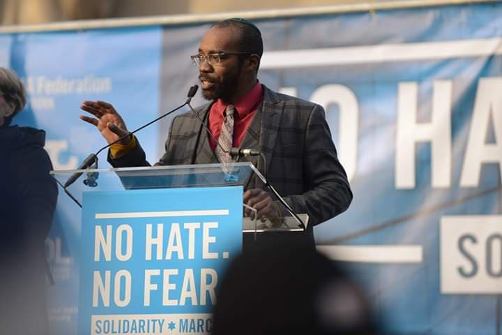 """Prepared Remarks by MaNishtana from the """"No Hate No Fear Jewish Solidarity March"""""""